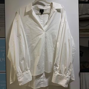 New W/O tags white dress shirt